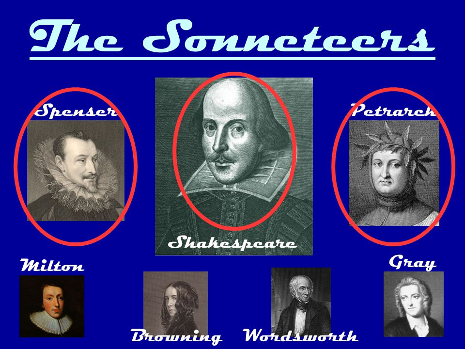 Shakespeare s sonnets were published in 1609, but most of them were written much earlier, probably in the 1590's, when Sir Philip Sidney's Astrophel and Stella established the vogue of the Elizabethan sonnet cycle (a group of sonnets that together produce an overall message).