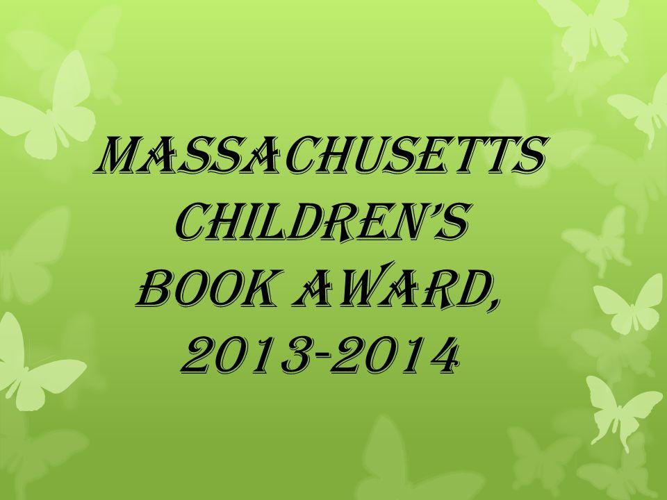 Massachusetts Children's Book Award, 2013-2014