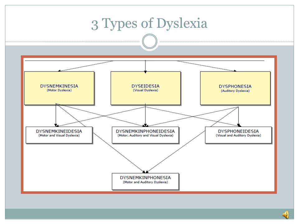 3 Types of Dyslexia