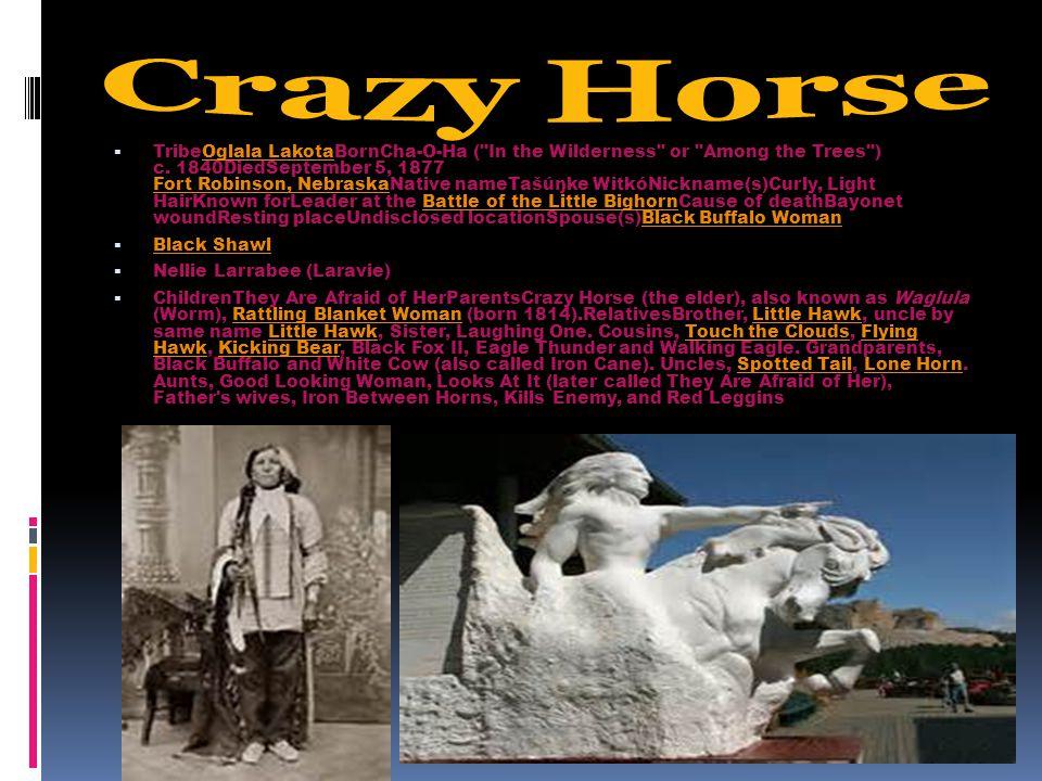  TribeOglala LakotaBornCha-O-Ha (
