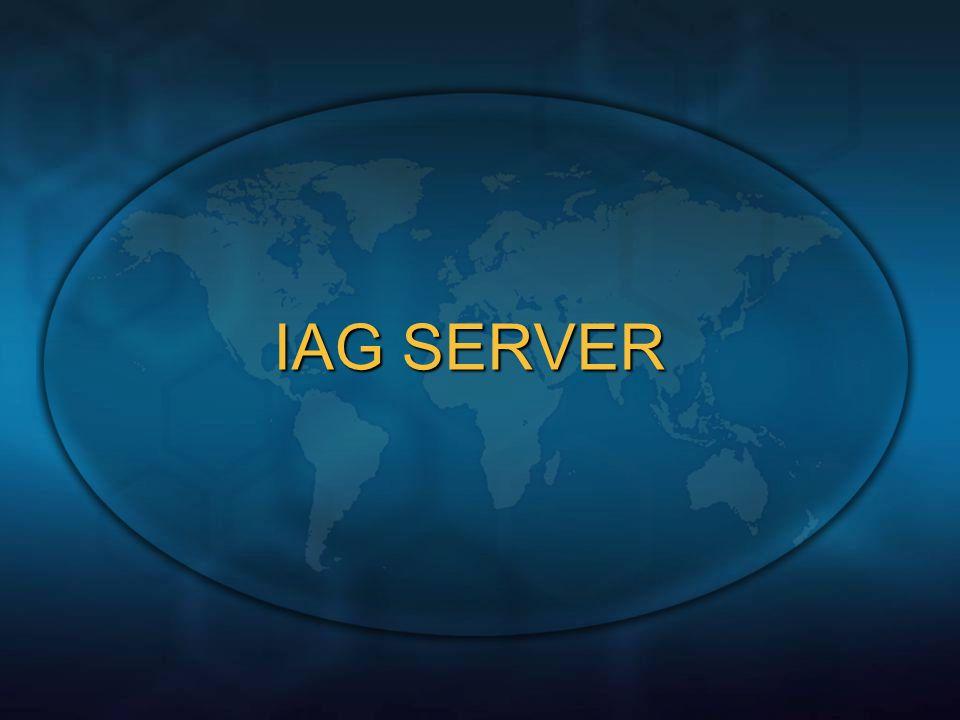 IAG SERVER