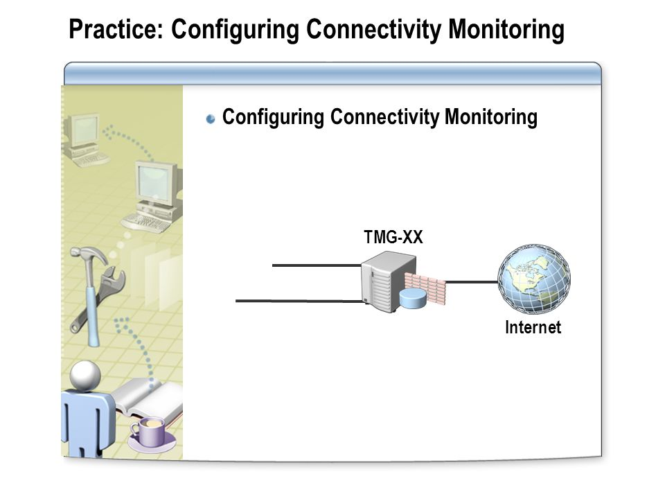 Lesson: Monitoring Services and Performance Monitoring TMG Server Services Performance Monitoring with TMG Server