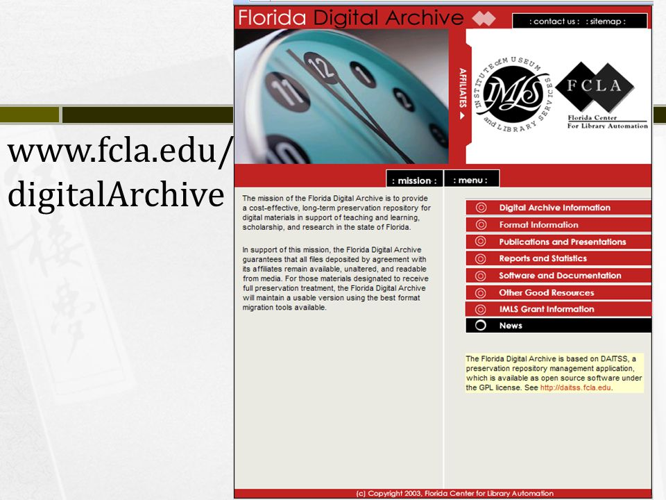 www.fcla.edu/ digitalArchive