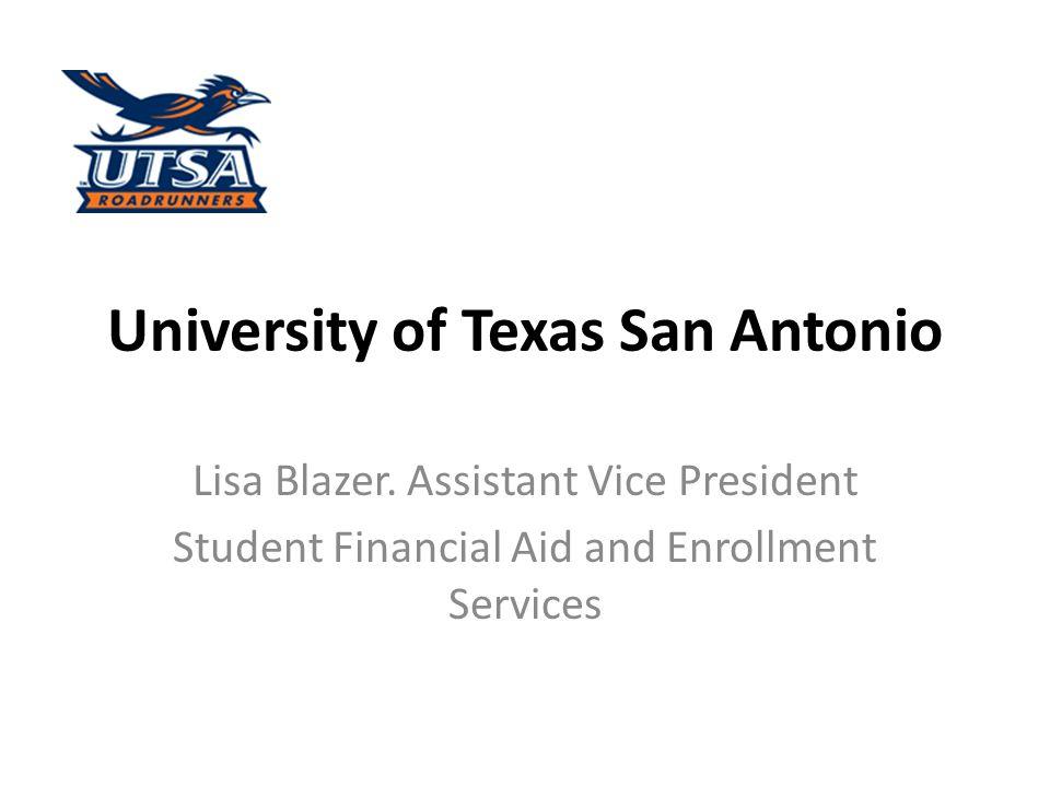 University of Texas San Antonio Lisa Blazer.