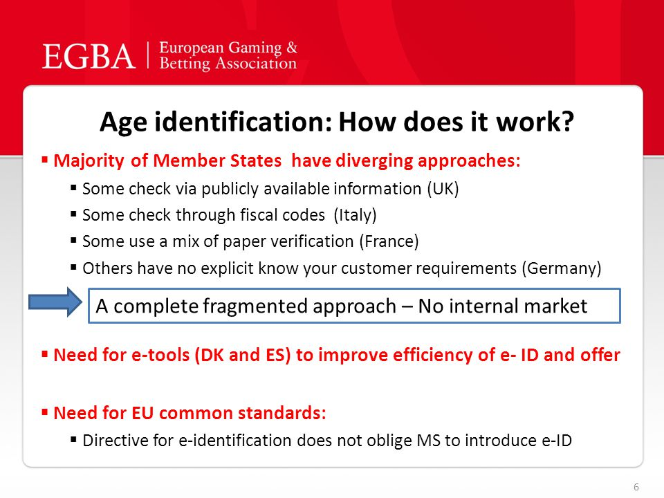 Age identification: How does it work.