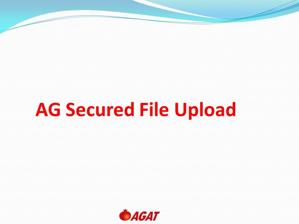 AG Secured File Upload
