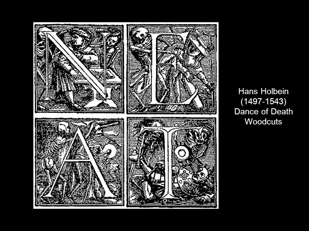 Hans Holbein (1497-1543) Dance of Death Woodcuts