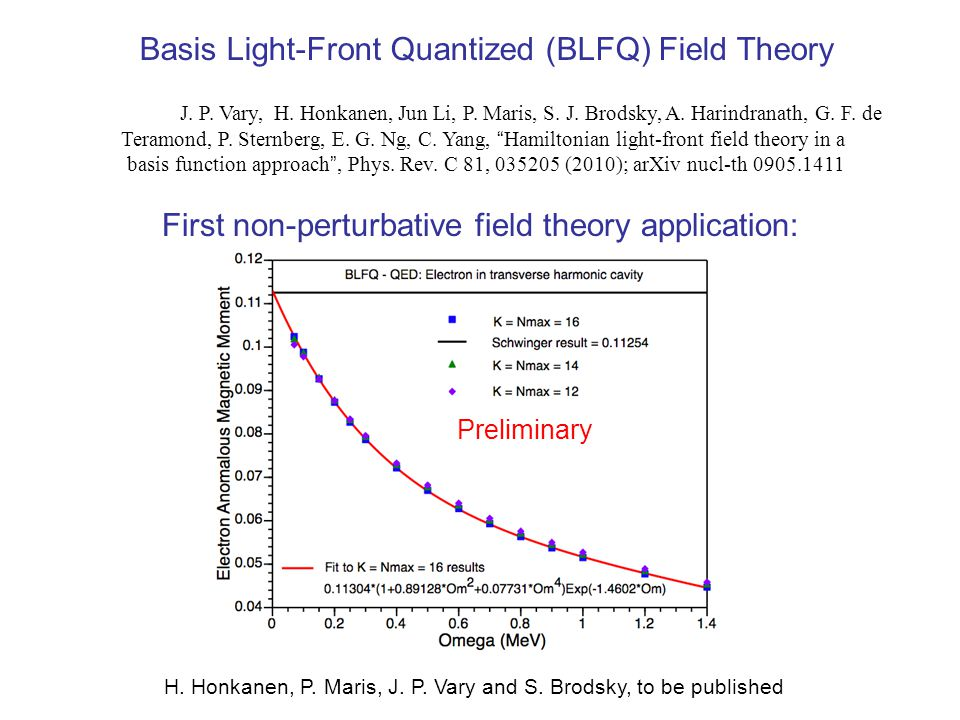 Basis Light-Front Quantized (BLFQ) Field Theory J.