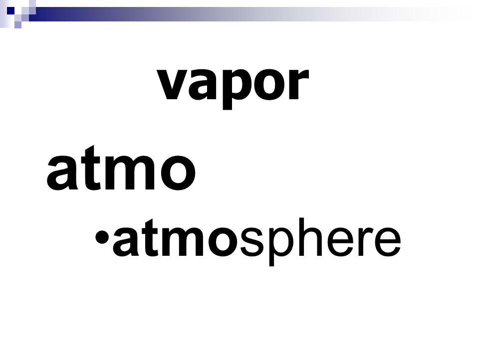 vapor atmo atmosphere