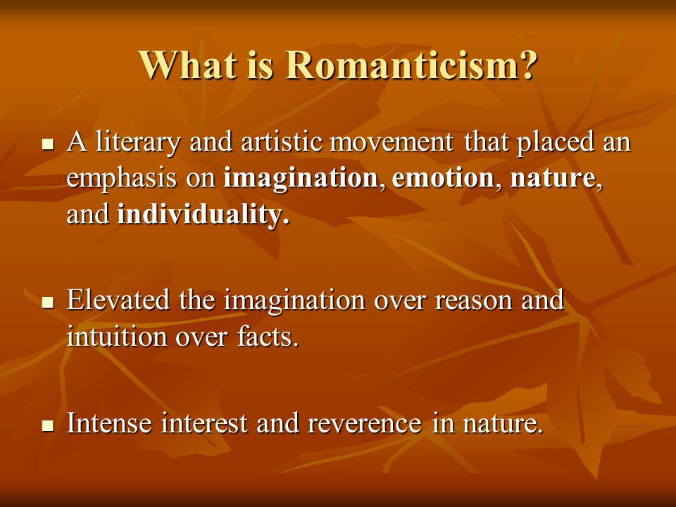 Who are the Romantics.