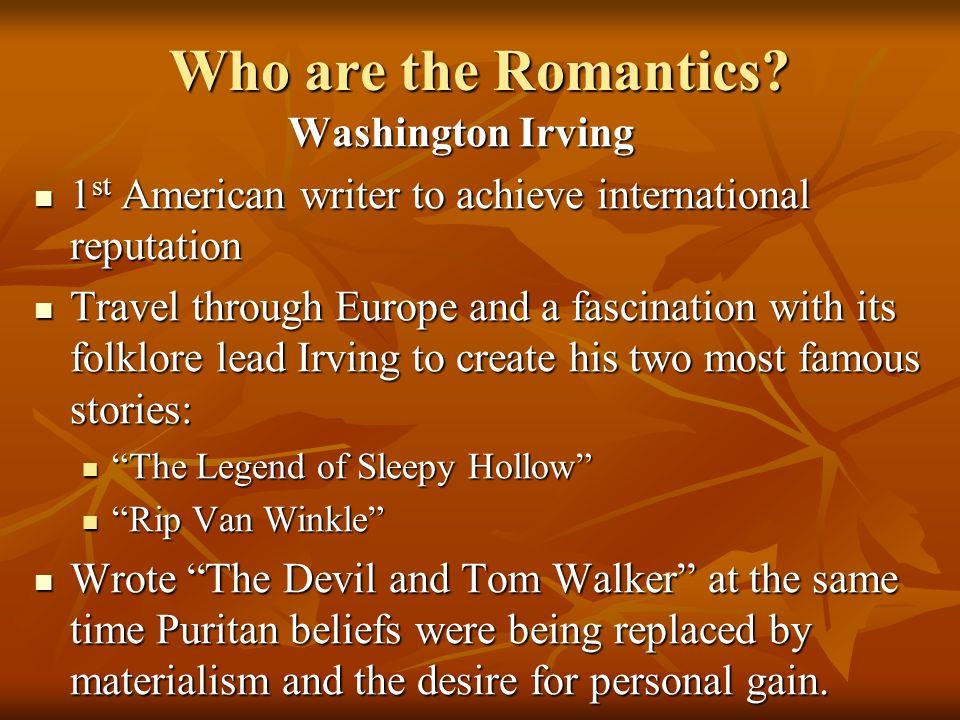 Who are the Romantics.William C.