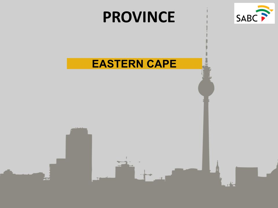PROVINCE EASTERN CAPE