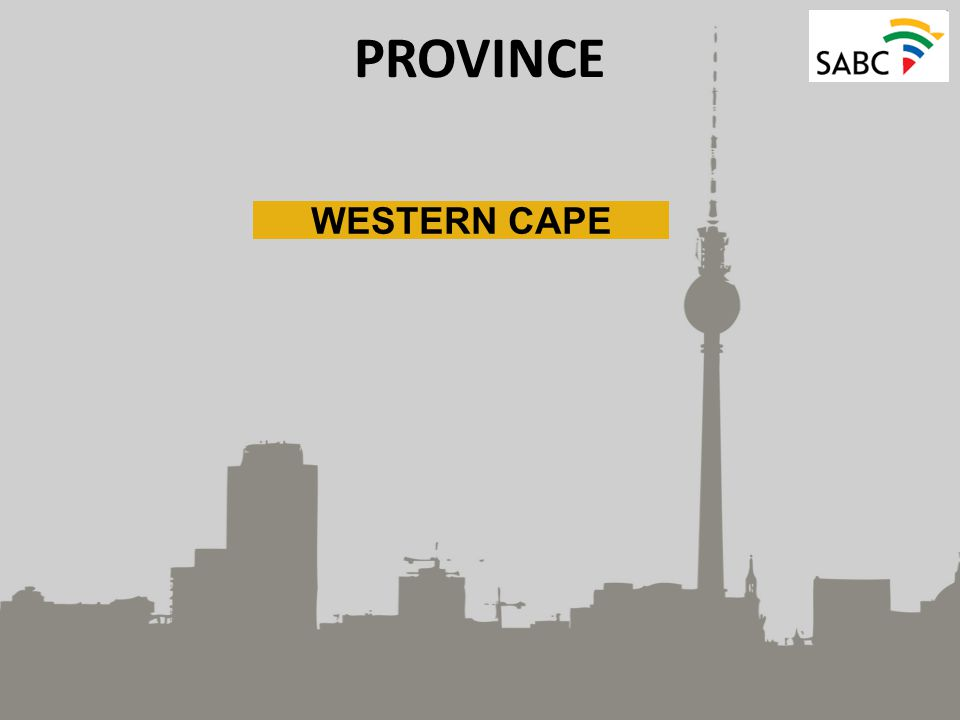 PROVINCE WESTERN CAPE
