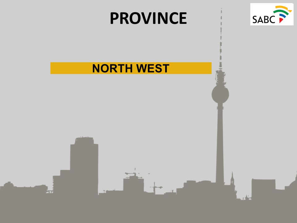 PROVINCE NORTH WEST
