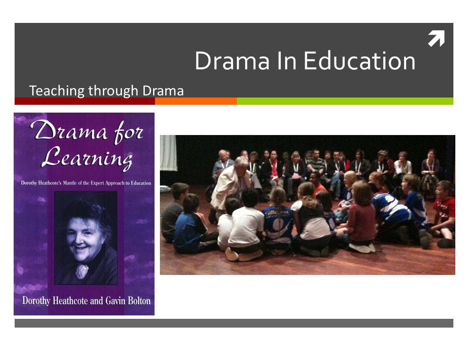  Drama In Education Teaching through Drama