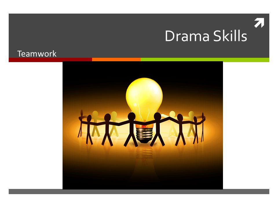  Drama Skills Teamwork