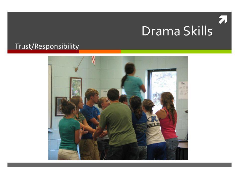  Drama Skills Trust/Responsibility