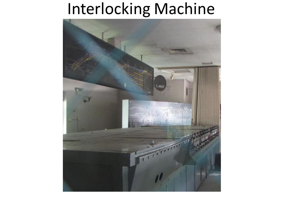 Interlocking Machine