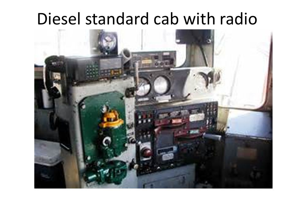 Diesel standard cab with radio