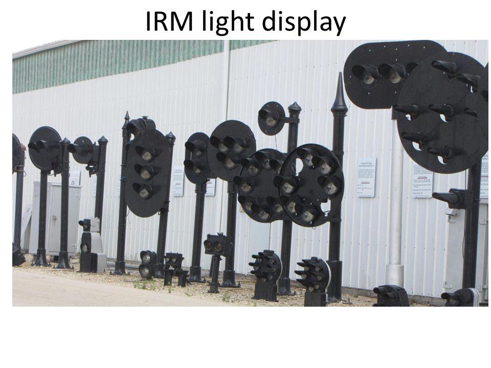 IRM light display