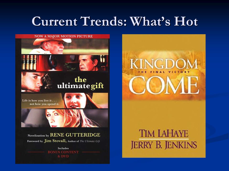 Current Trends: What's Hot