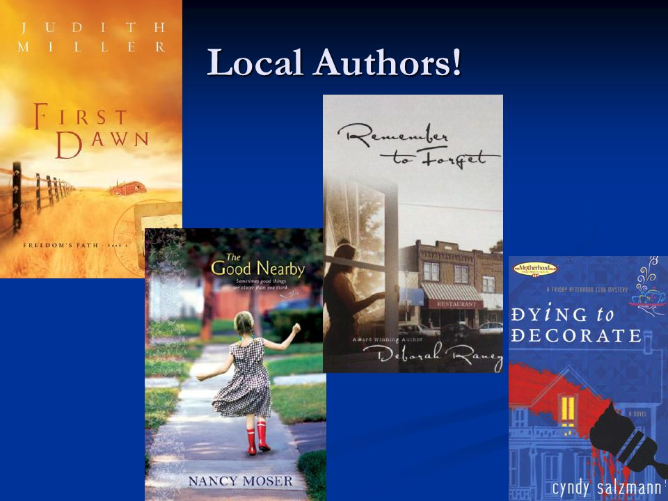 Local Authors!