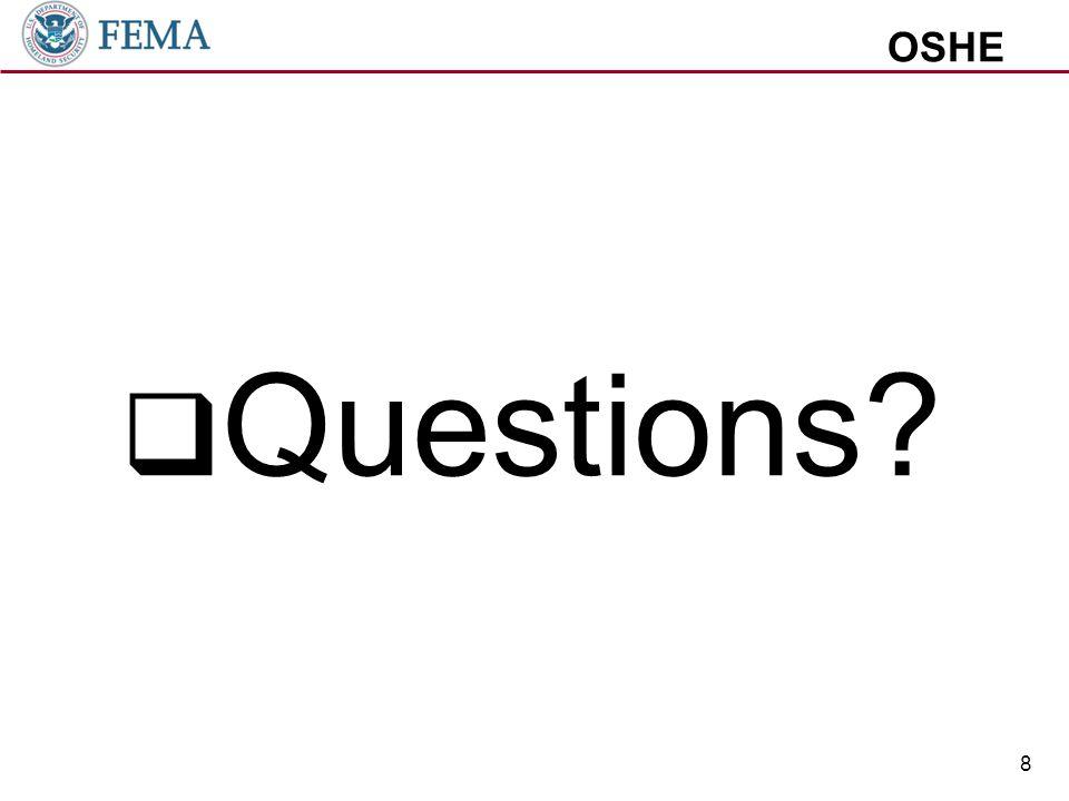 OSHE  Questions 8