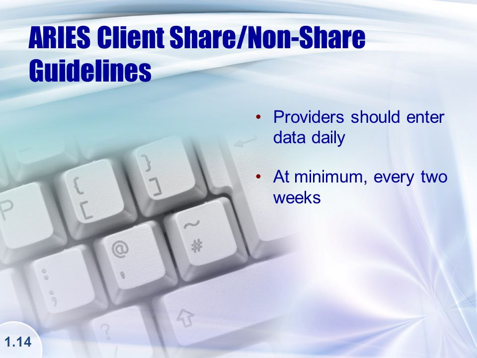 ARIES Client Share/Non-Share Consent Form 1.14