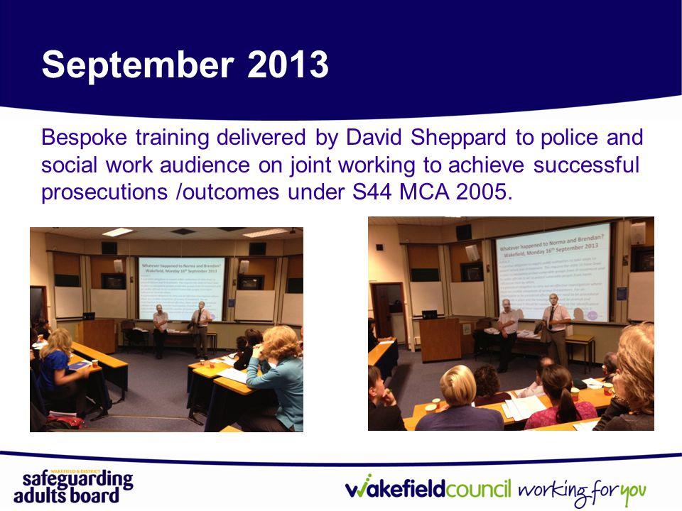 September 2013 Networking Event: Back to Basics - Safeguarding
