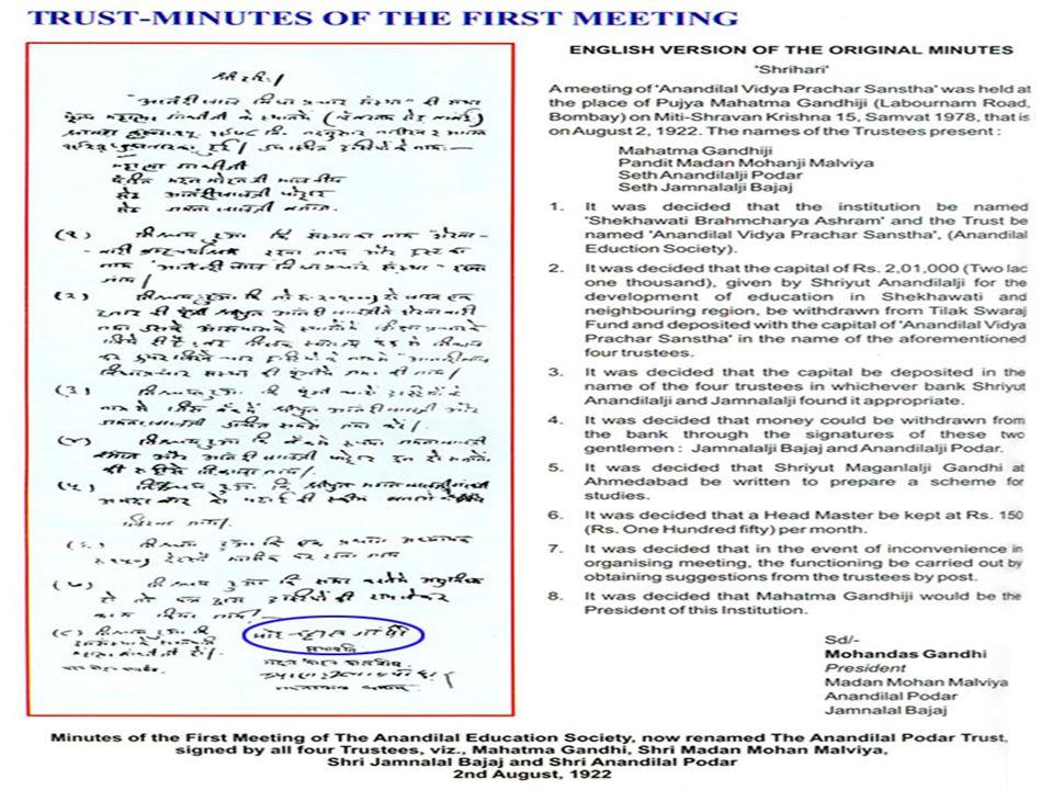 All rights reserved (c) Podar Skills (A unit of The Anandilal Podar Trust) 6