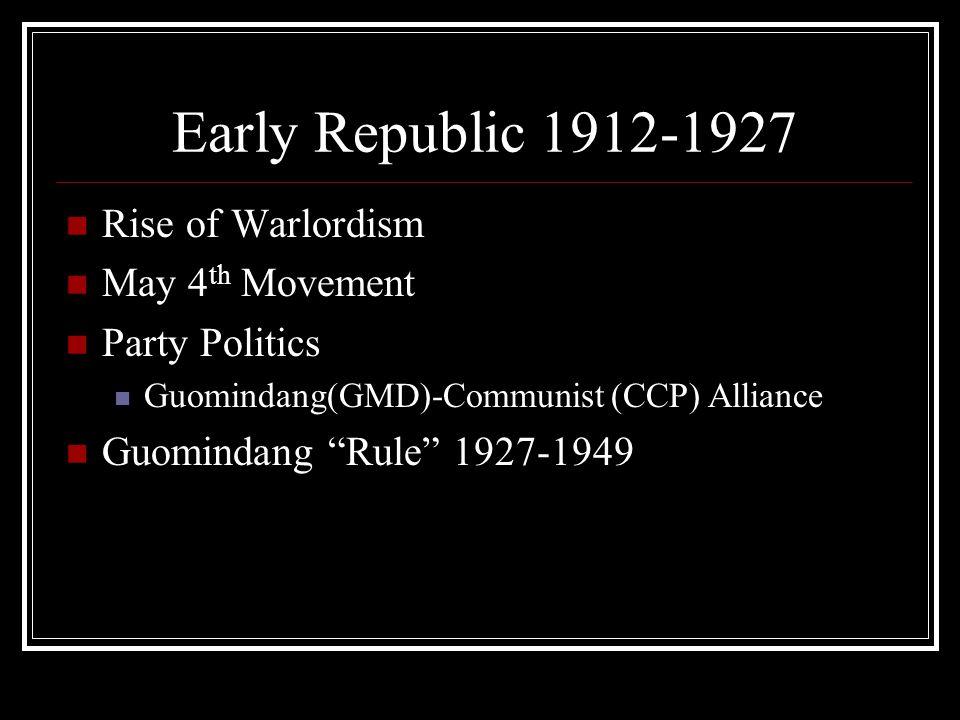 Rise of Chiang Kai-shek Chiang Kai-shek (1888- 1975) Top military advisor to Sun Yat-sen (d.