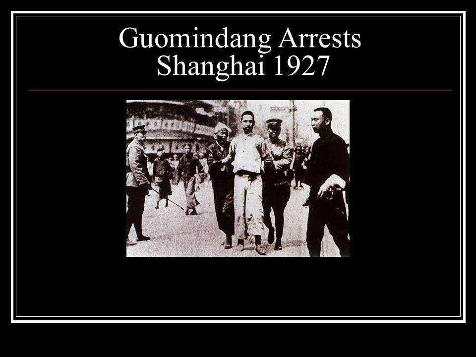 Guomindang Arrests Shanghai 1927