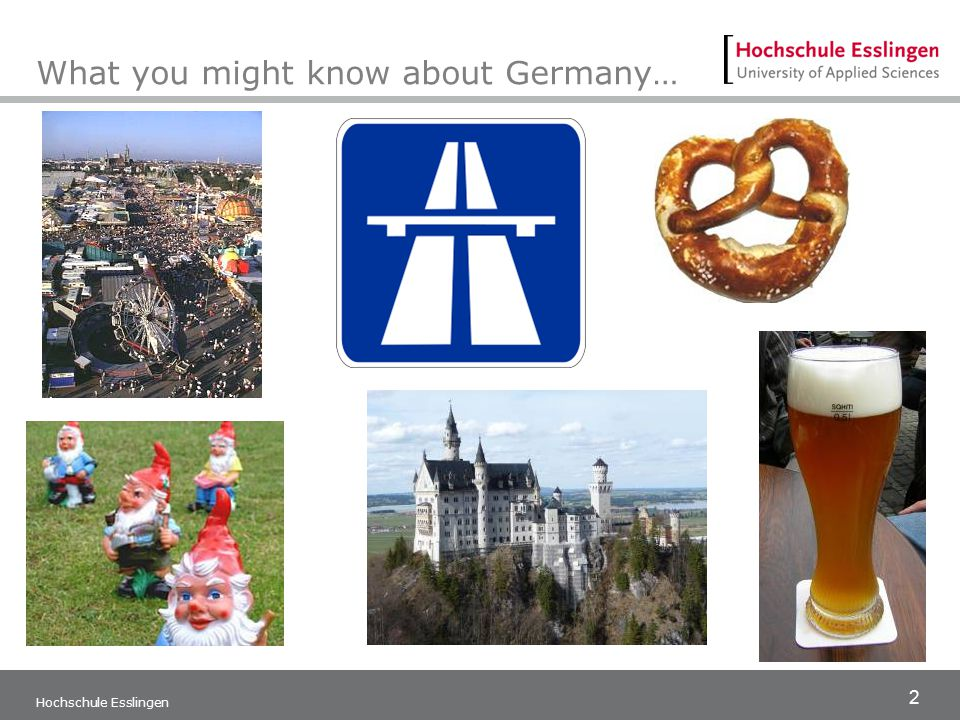 3 Hochschule Esslingen Germany has so much more to offer…