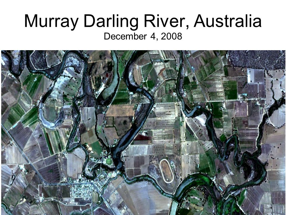 Murray Darling River, Australia December 4, 2008