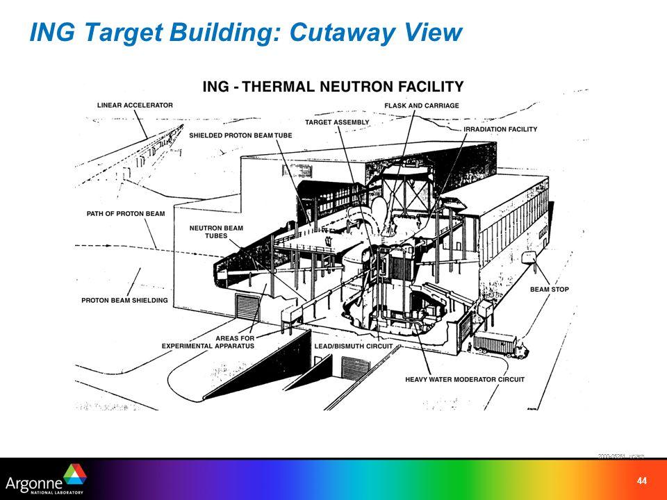44 ING Target Building: Cutaway View 2000-05261 uc/arb