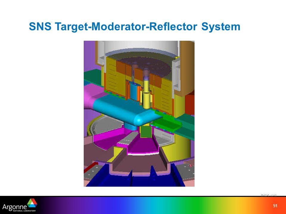 51 98-6245 uc/vlb SNS Target-Moderator-Reflector System