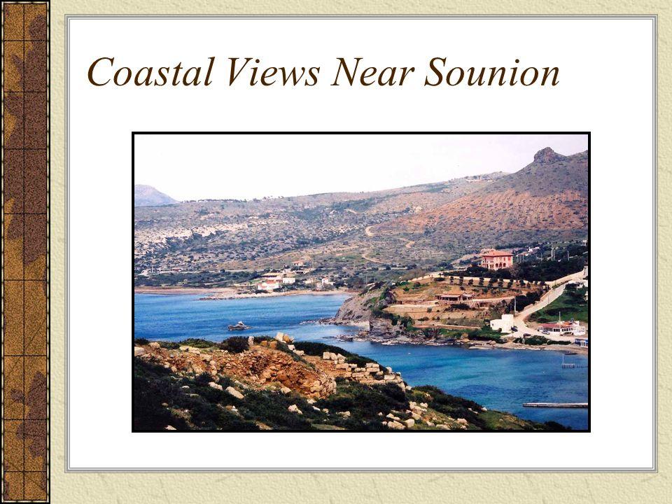 Coastal Views Near Sounion