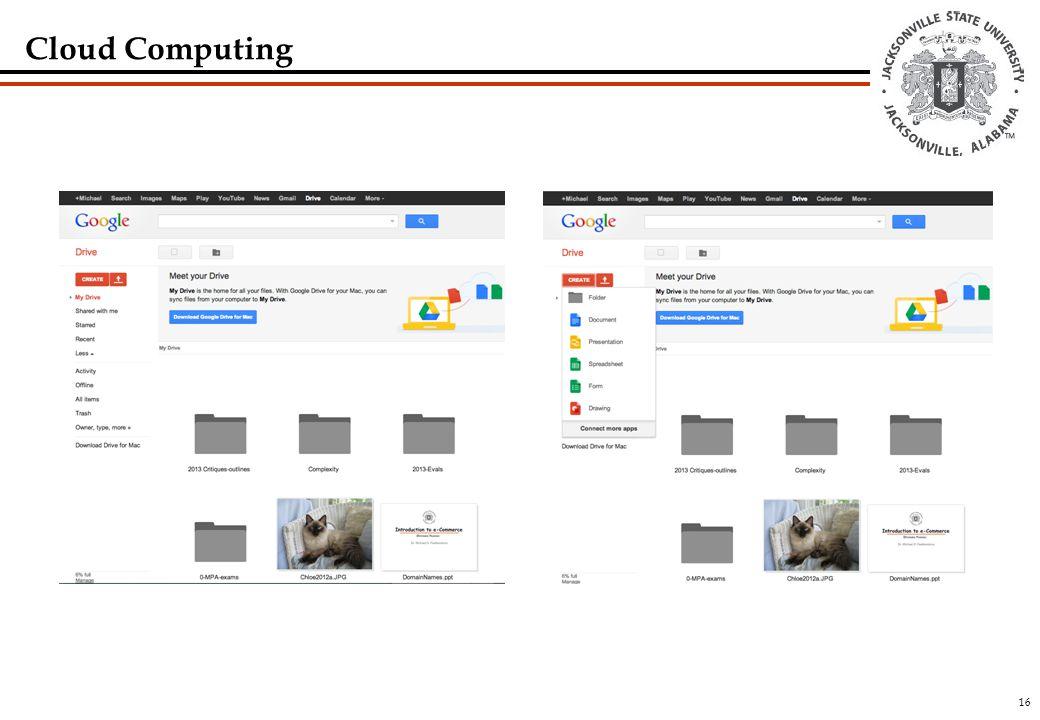 16 Cloud Computing