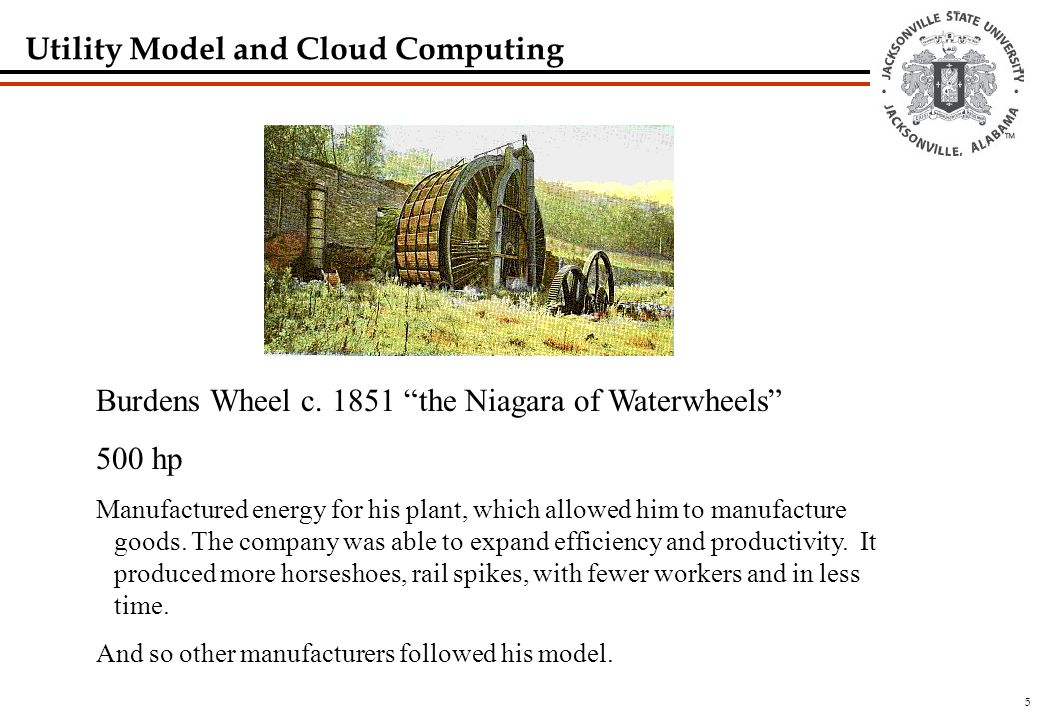 5 Utility Model and Cloud Computing Burdens Wheel c.