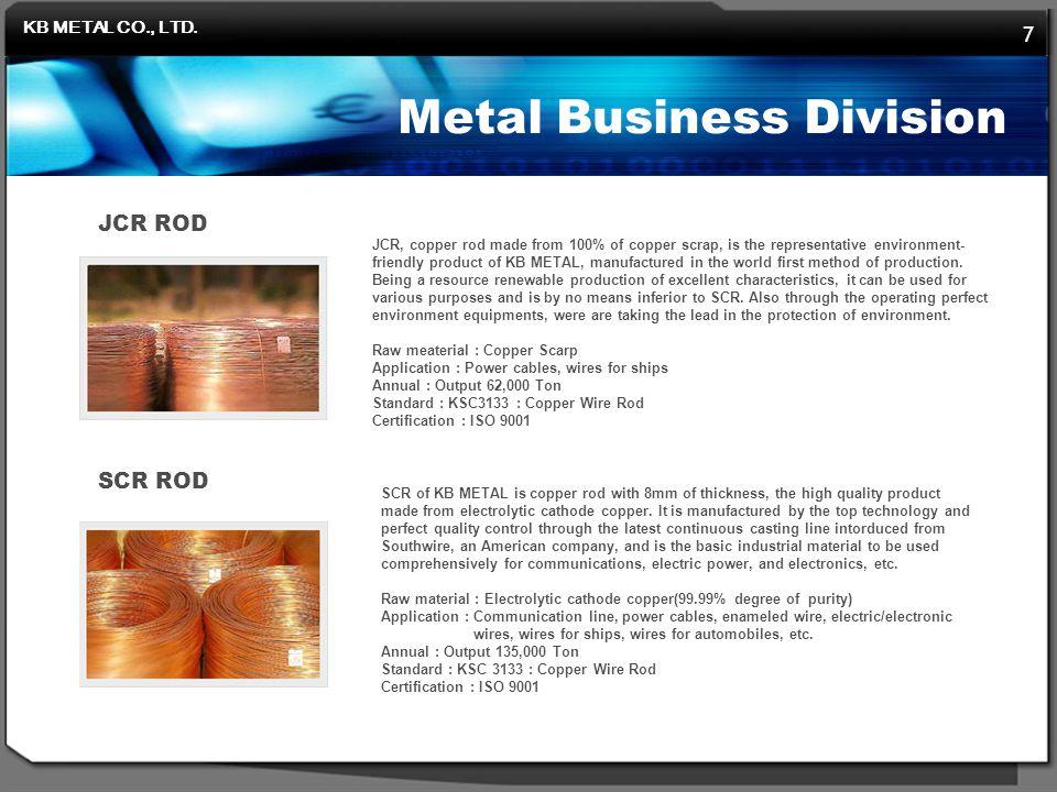 KB METAL CO., LTD.