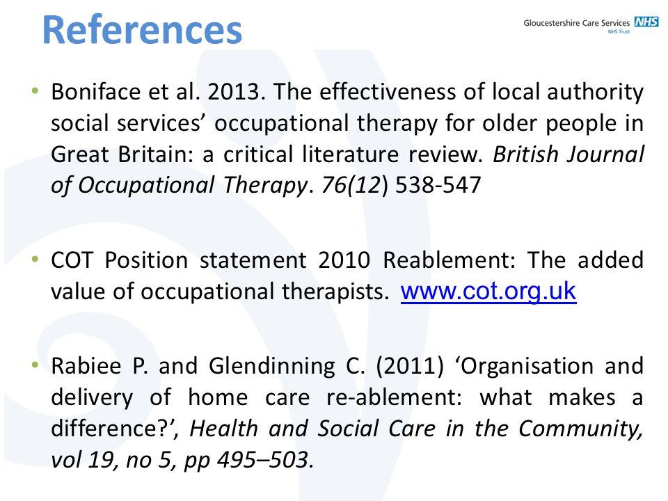 References Boniface et al. 2013.