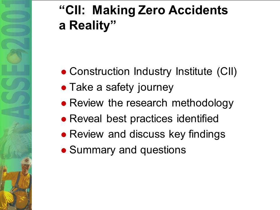 23 Demonstrated Management Commitment Home office safety inspections on the project