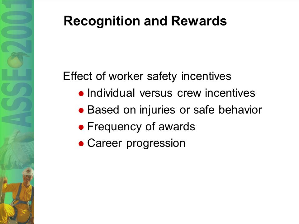 42 Worker Involvement and Participation Are safety perception surveys conducted on the project