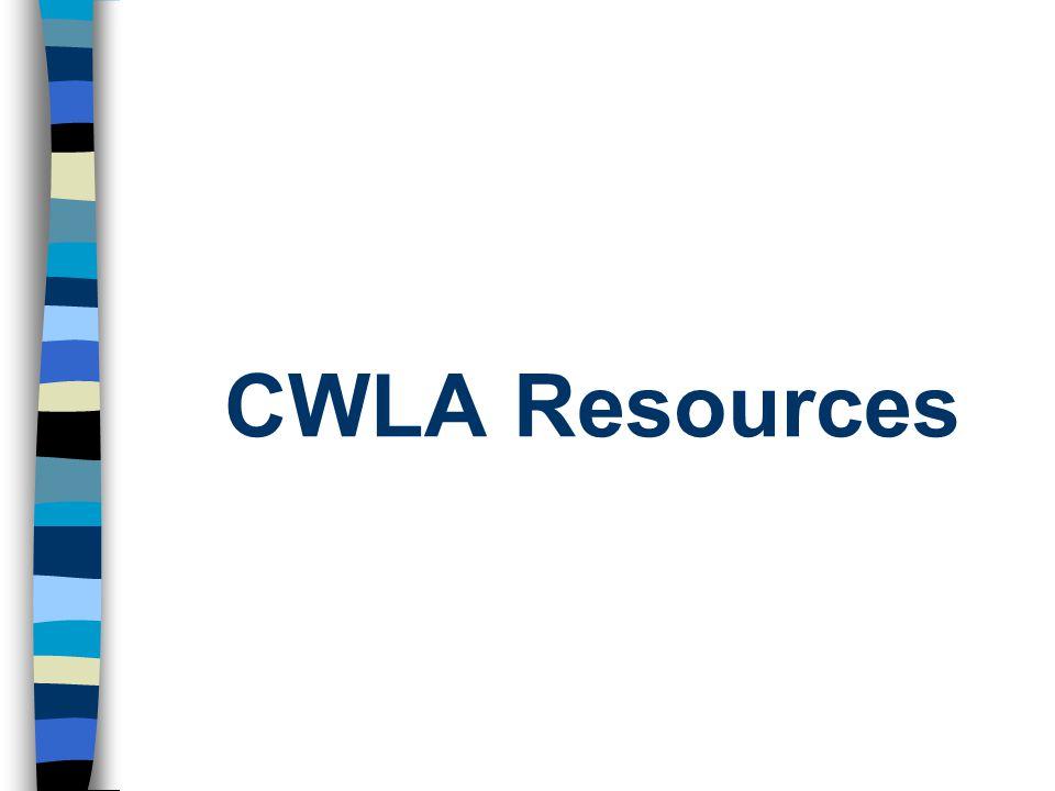 CWLA Resources