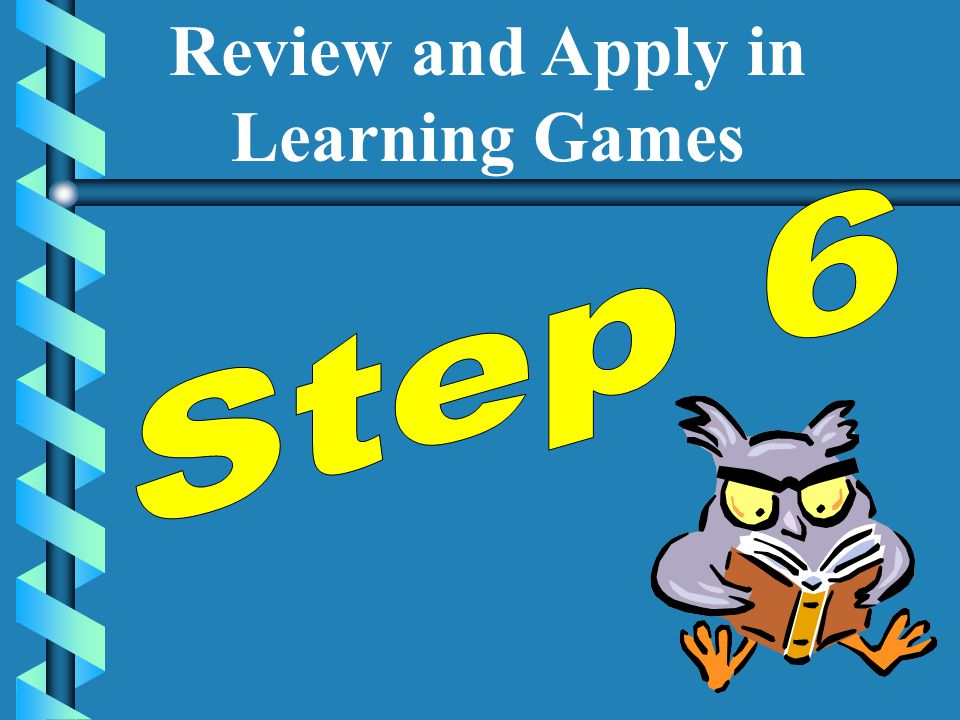 Review and Apply in Learning Games