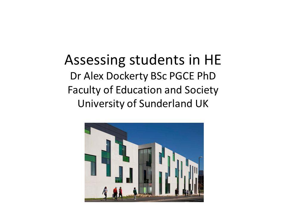 Undergraduate assessment The University uses a modular scheme.
