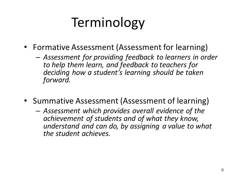 Assessing students' work Assessment criteria are what the student must do to show effective learning at the level required, for the work in question.