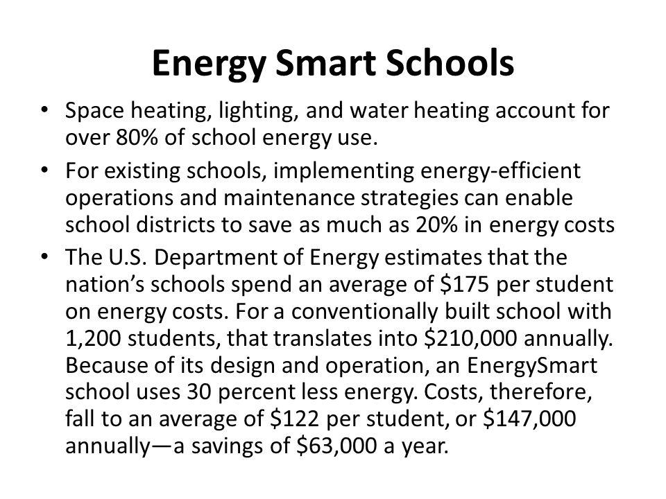 Energy Smart Schools