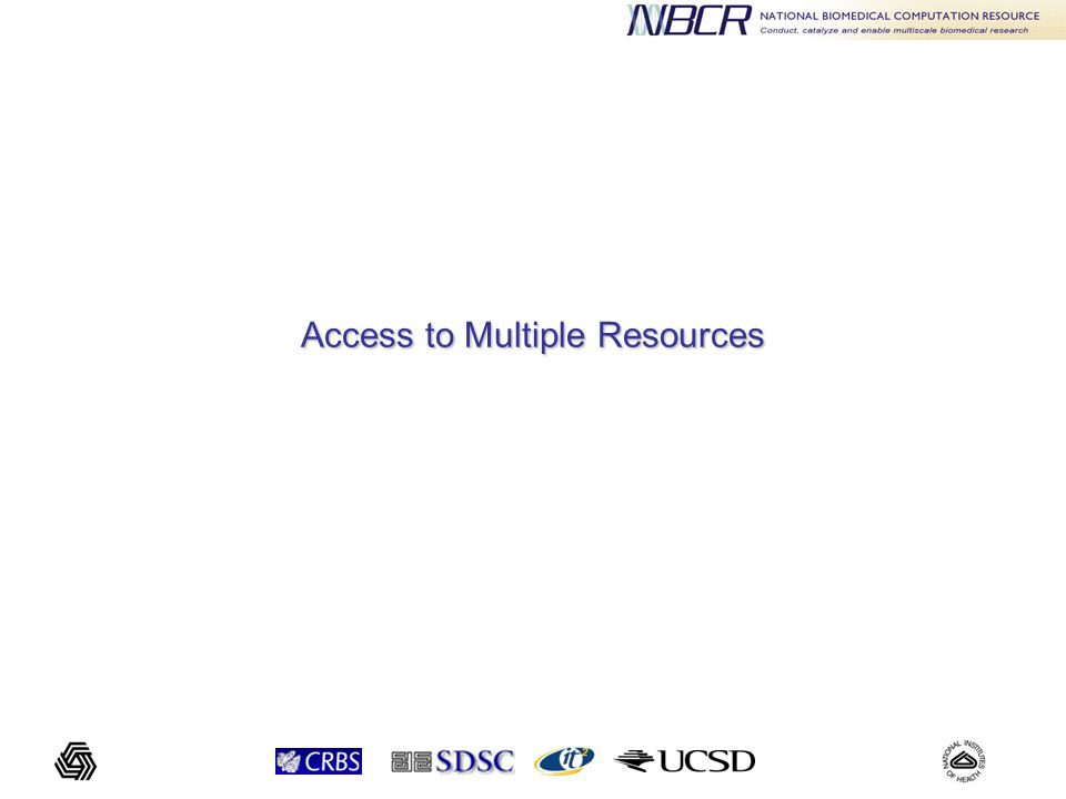 Access to Multiple Resources