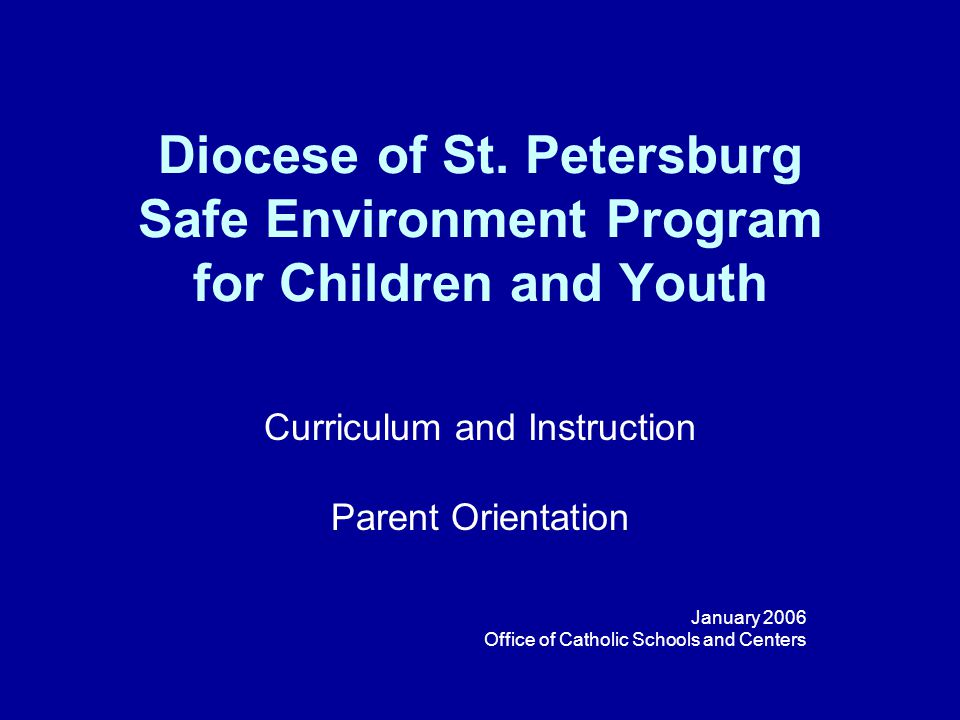 Diocese of St.